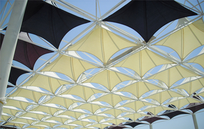 Tensile Fabric Structure In Uae Car Park Shades In Uae